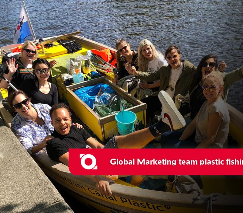 Plastic Fishing with the Global Marketing Team