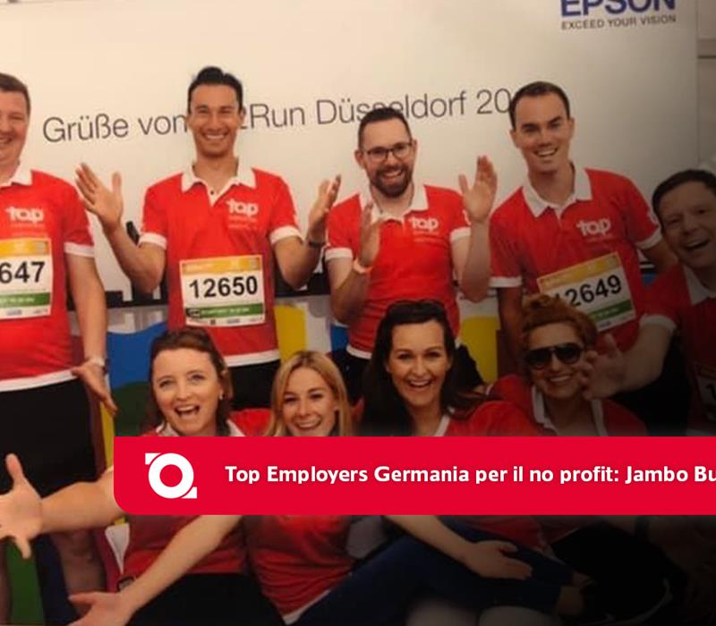 Top Employers Germany CSR: Jambo Bukoba