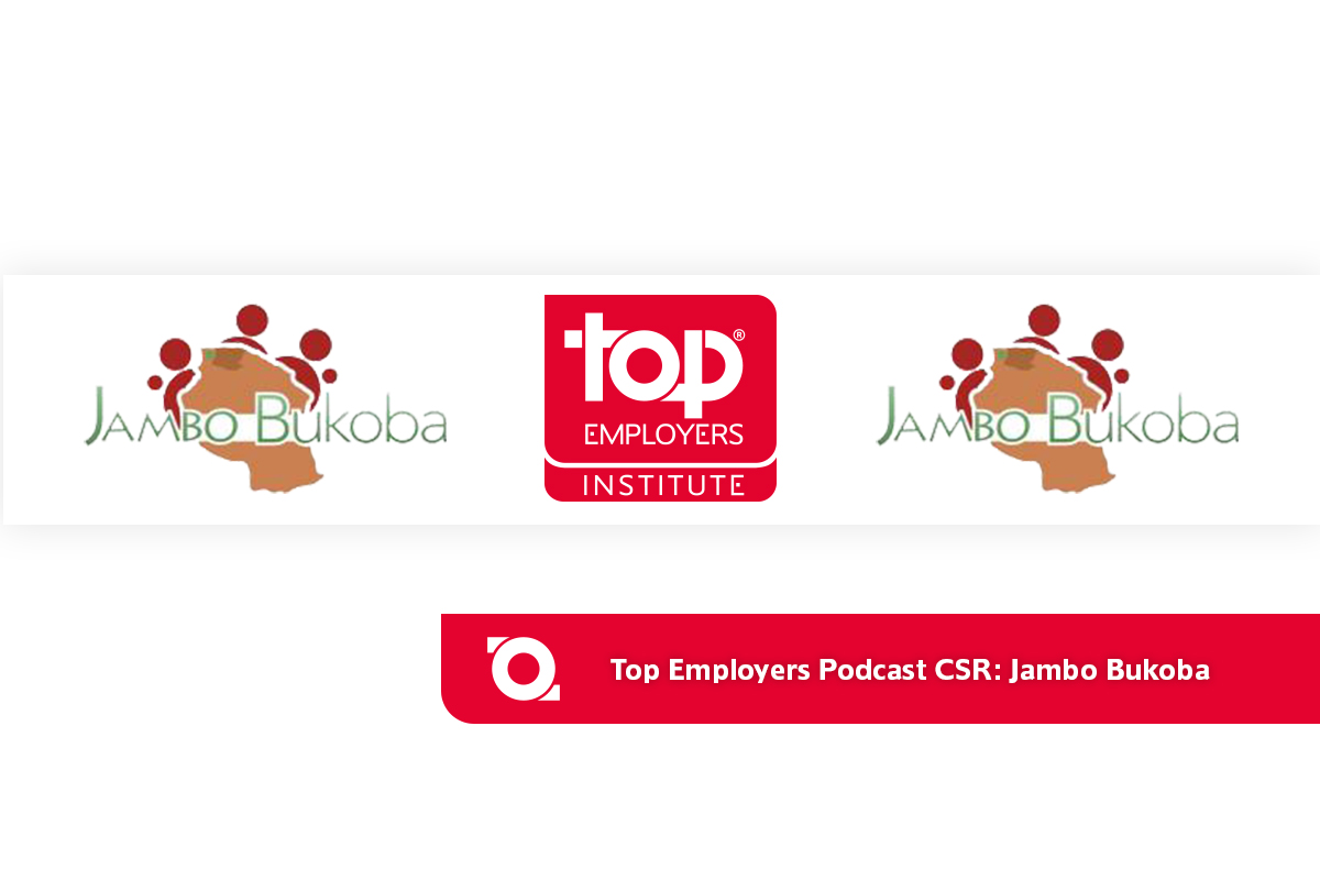 Top Employers Podcast CSR: Jambo Bukoba