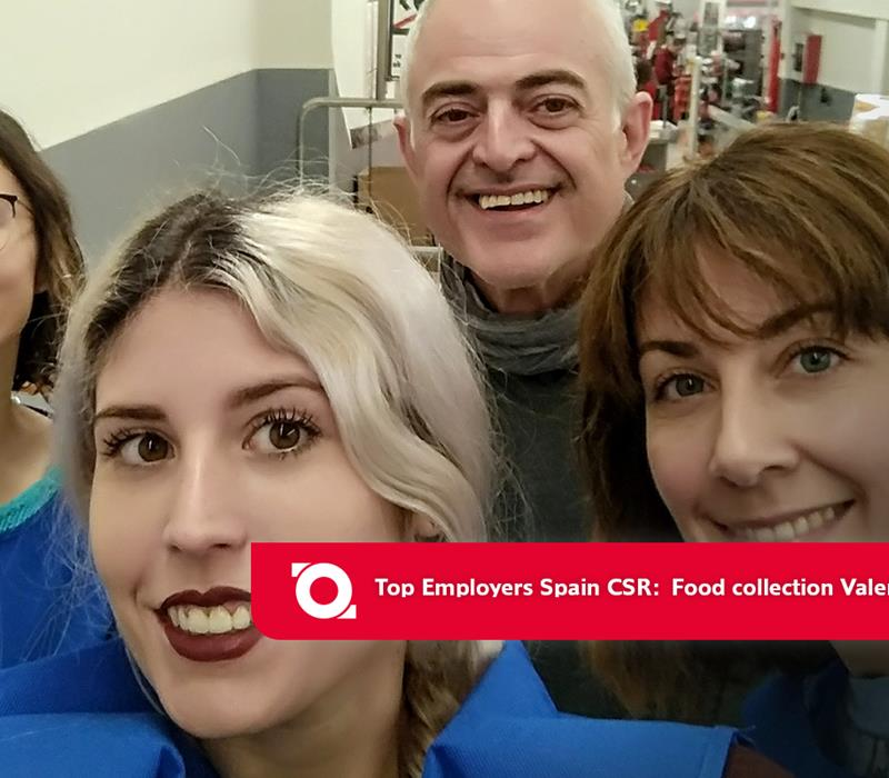Top Employers Spain food collection Valencia